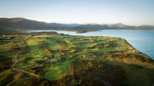 Dooks Golf Links - Aerial