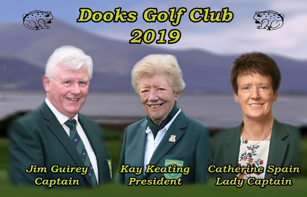 dooks captain, president and lady captain