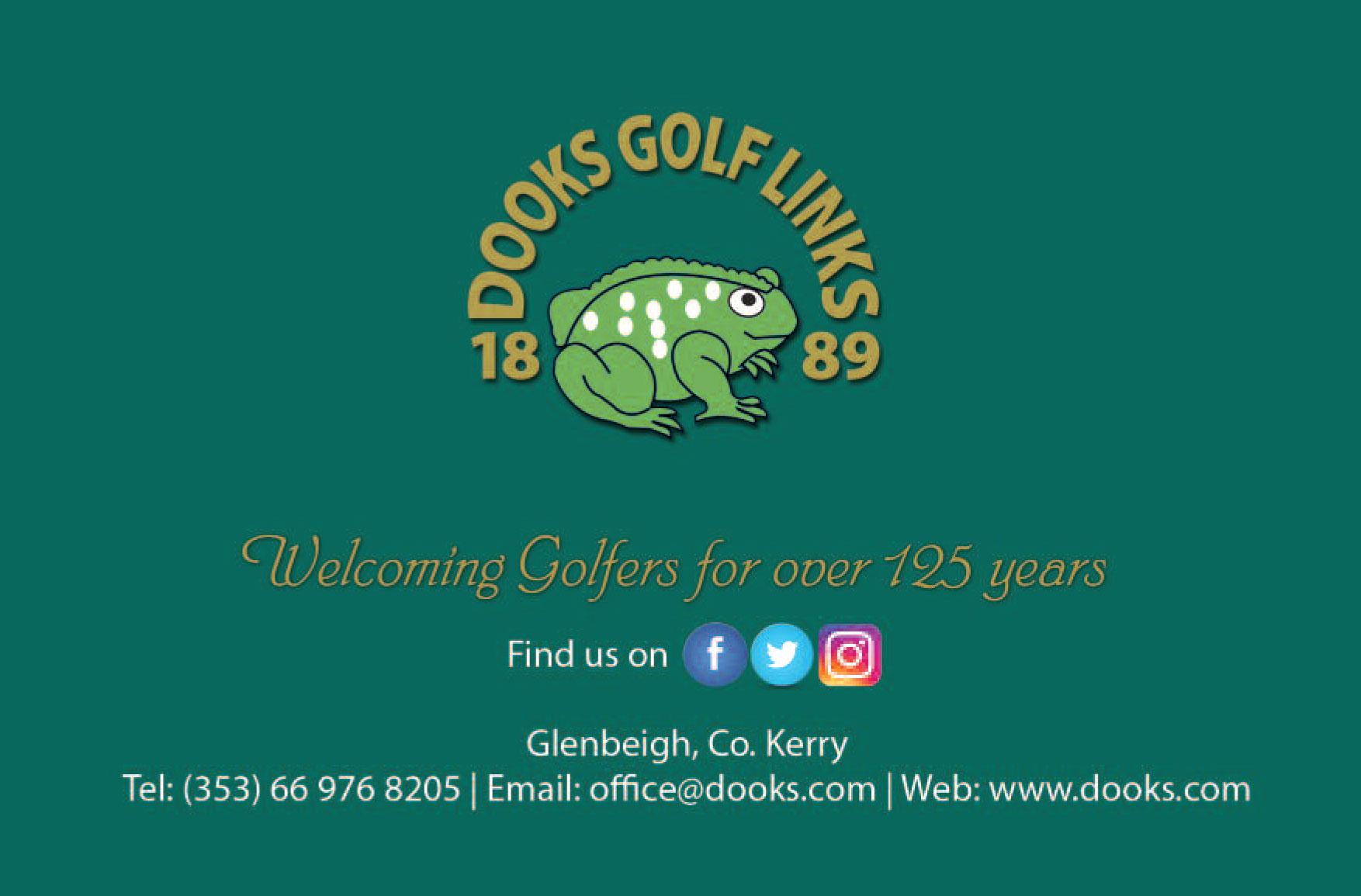 dooks golf links scorecard