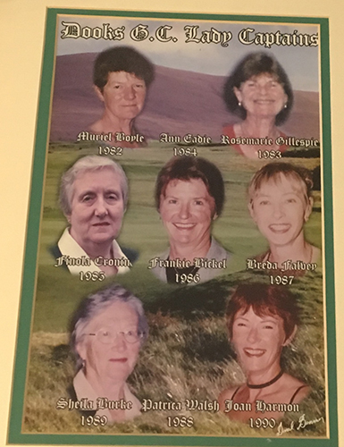 Dooks Golf Club Lady Captains