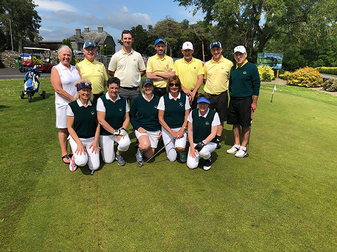 Mixed Foursomes Team Newcastle West