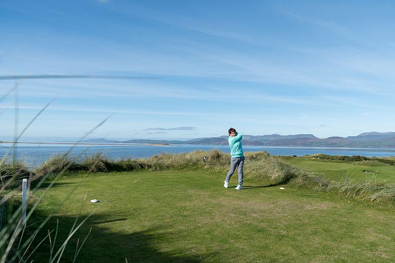 Spousal membership at Dooks Golf Club