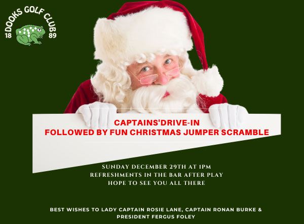 Christmas Drive In at Dooks Golf Club
