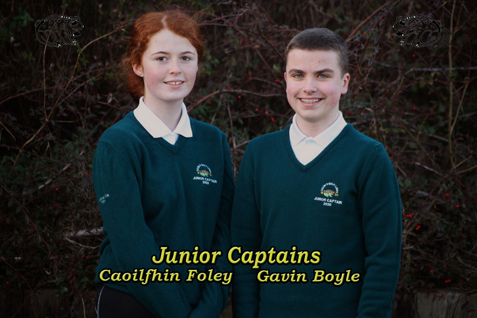 Dooks Junior Golf - Caoilfhin Foley and Gavin Boyle