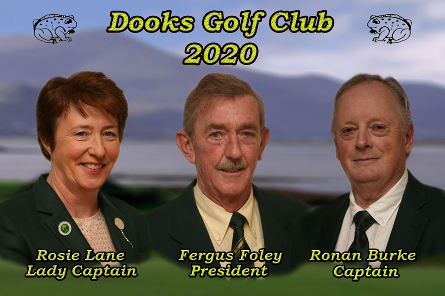 Dooks Lady Captain, Men's Captain and President