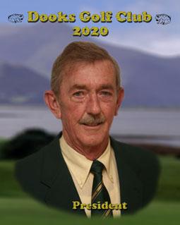 Fergus Foley - Dooks Golf Club President 2020