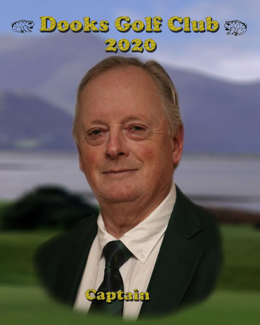 Ronan Burke - Dooks Golf Club Mens Captain 2020