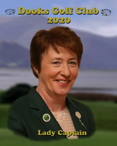 Rosie Lane - Dooks Golf Club Lady Captain 2020